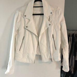BLANK NYC White Jean Jacket | Hello Moto